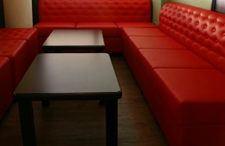 Restaurant sofa benches & armchairs